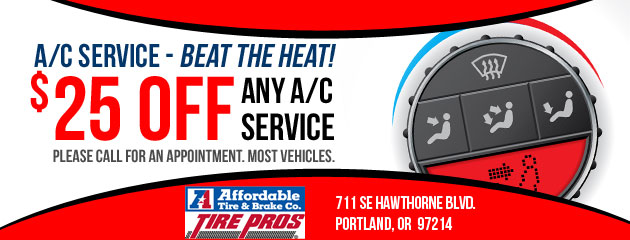 $25 Off Any A/C Service