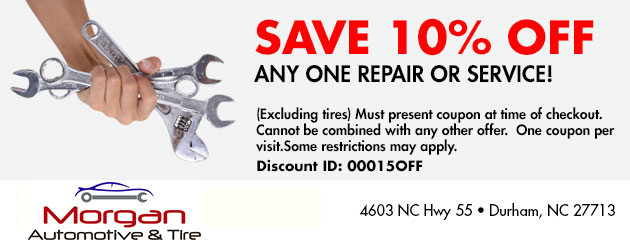 Save 10% off any one Repair or Service!