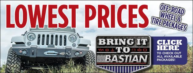 Off-Road Wheel & Tire Packages