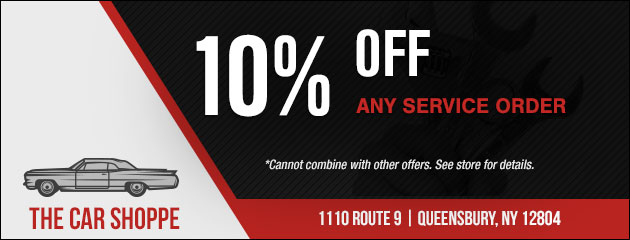 10% Off Any Service Order