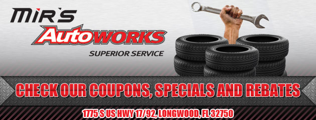 Mirs Autoworks Superior Service Savings