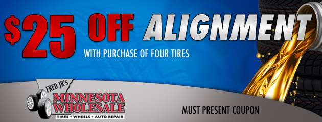 $25 Off Alignment