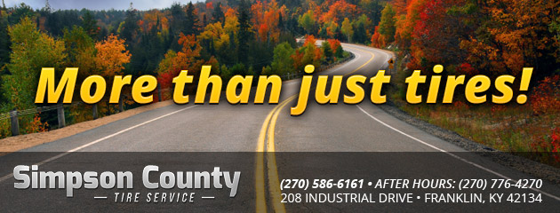 Simpson County Tire Service Franklin Ky Tires Auto Repair Shop
