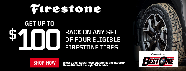 Firestone Hours Sunday >> Best One Tire Auto Care Of Grant County Marion In Tires