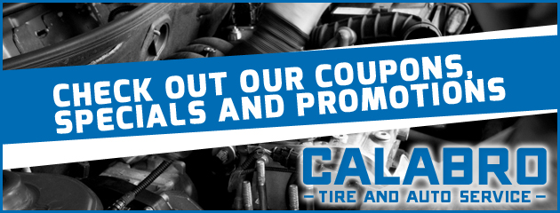 Calabro Tire and Auto Service Savings