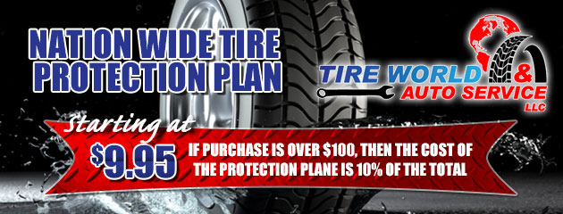 Nation Wide Tire Protection Plan