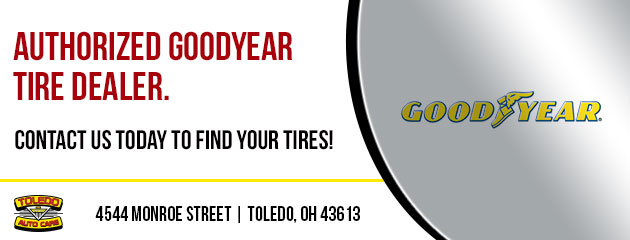 Authorized Goodyear Tire Dealer.