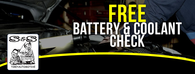 FREE Battery and Coolant Check