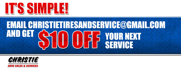 Email Us and Receive $10 OFF Your Next Service