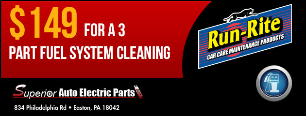 $149.00 for a 3 part fuel system cleaning