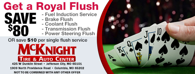 Save $80 on a Royal Flush!