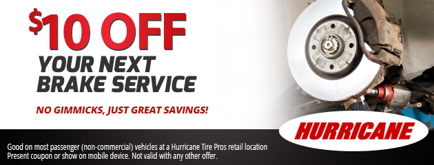 $10 OFF Your Next Brake Service