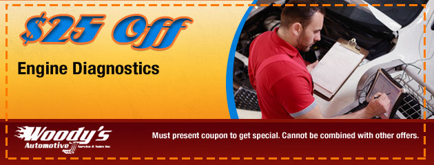 $25.00 Off Engine Diagnostics