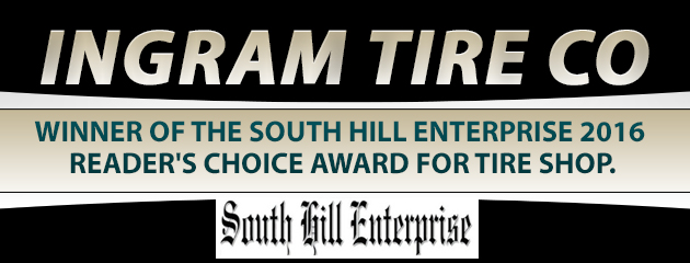 Winner of the 2016 South Hill Enterprise Reader