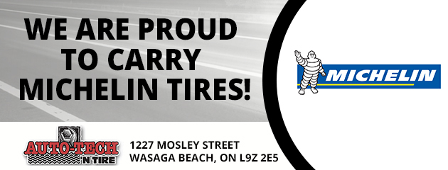 We are proud to carry Michelin Tires