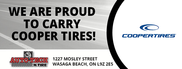 We are proud to carry Cooper Tires