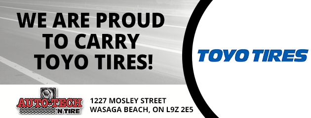 We are proud to carry Toyo Tires