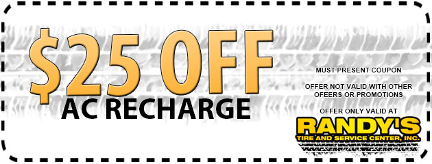 $25 OFF AC Recharge