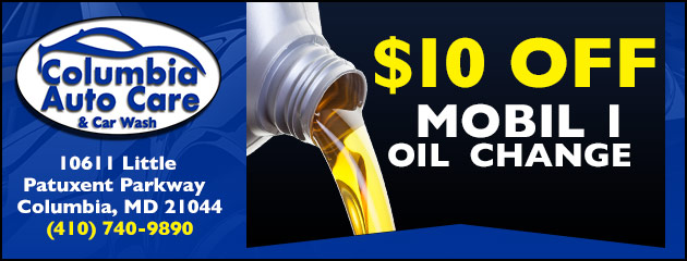 $10 off Mobil 1 Oil Change