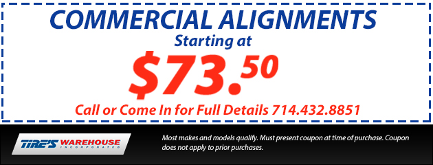 $73.50 Commercial Alignment