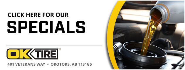 OK Tire & Auto Service Okotoks Savings