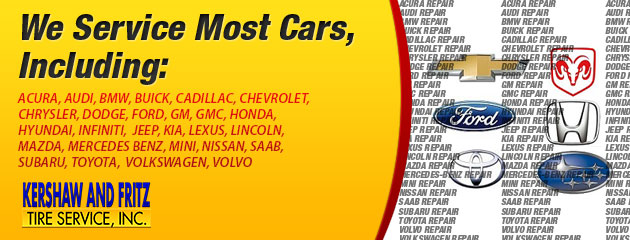 We Service Most Cars