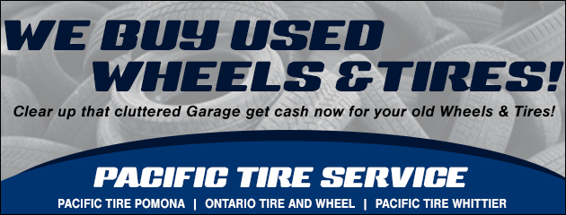 We buy used wheels tires!