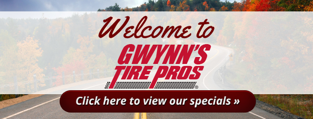 Gwynn Tire Service Savings