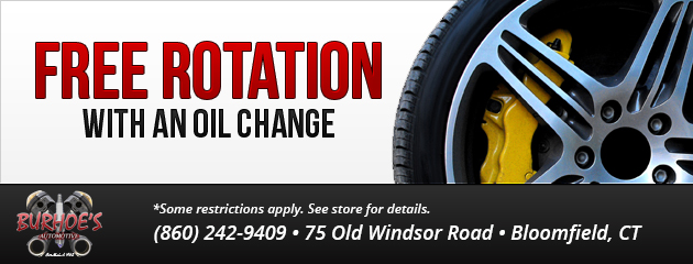 FREE Tire Rotation With an Oil Change