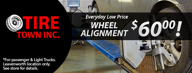 Wheel Alignment- $60