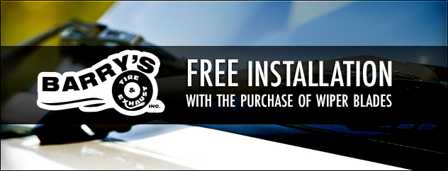 FREE Installation with the purchase of wiper blades
