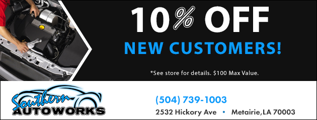 10% OFF New Customers!