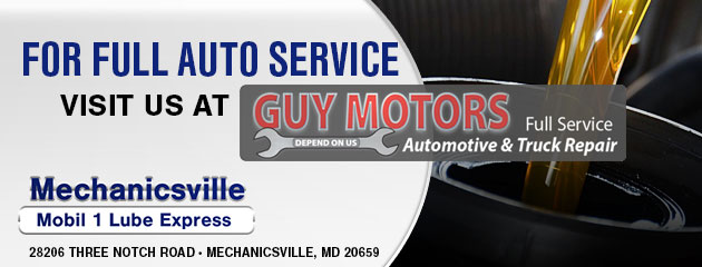 For Full Auto Service, Visit Us At!