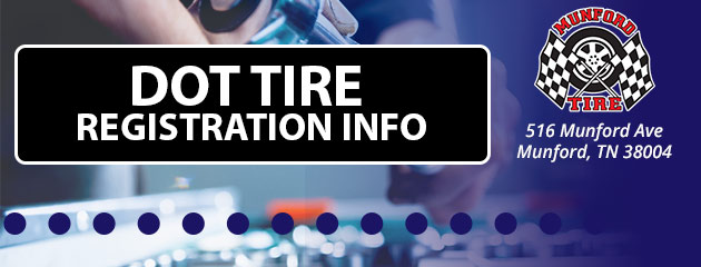 DOT Tire Registration Info