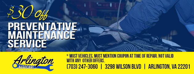$30 OFF Preventative Maintenance Service