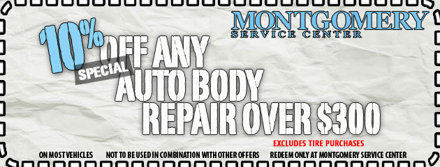 10% Off Body Work Special