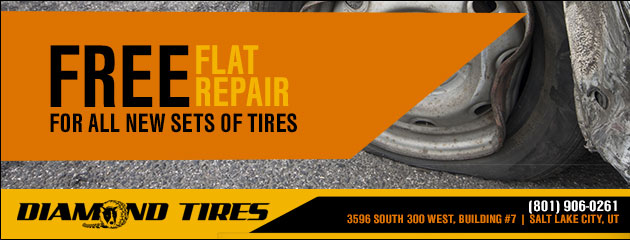 Free flat repair for all new sets of tires