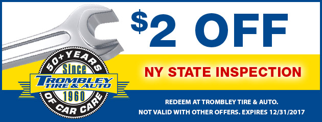 $2 Off NY Inspection