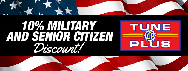 Military and Senior Discount Recieve 10% off
