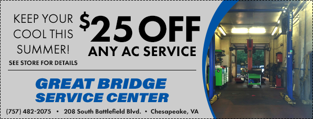 $25 OFF Any AC Service