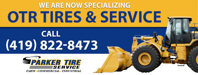 We are now specializing OTR Tires & Service