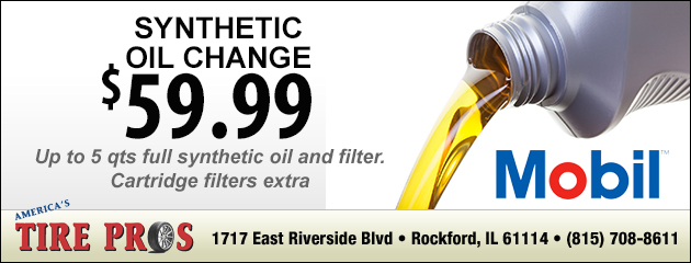 $29.99 Synthetic Oil Change