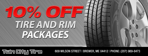 10% Rim and Tire Packages