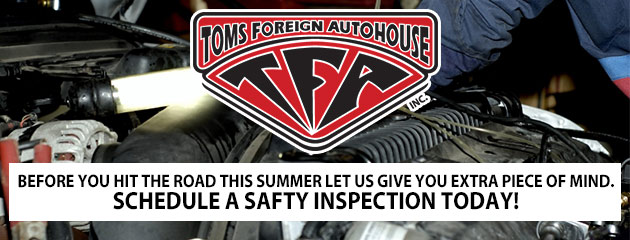 Schedule a Safety Inspection today!