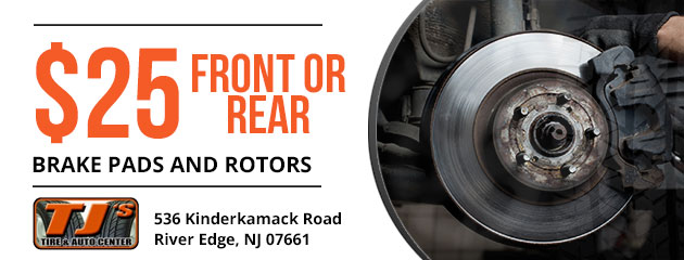 $25 Front or Rear Brake Pads and Rotors