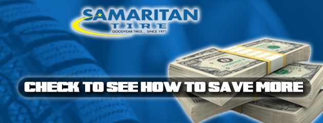 Samaritan Tire Coupons, Specials Save Money