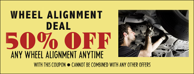 50 Percent off Alignment